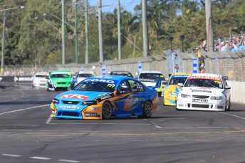 Grant Denyer leads the Fujitsu V8 Series field at Townsville this year