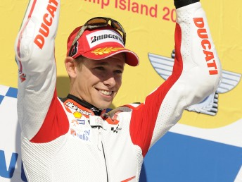 Stoner's win at Phillip Island is a sign the Australian is back to his best