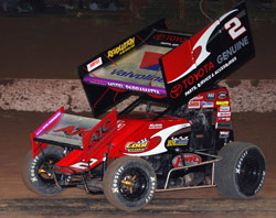 Brooke Tatnell remains unbeaten in the 2009/2010 Performance Wholesale World Series Sprintcars Championship