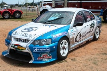 Hayden Pullen will drive the City of Wagga Wagga Falcon BA at Homebush in December