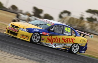 James Winslow will drive a Jay Motorsports Commodore VZ at the Sydney Olympic Park Fujitsu V8 round next weekend