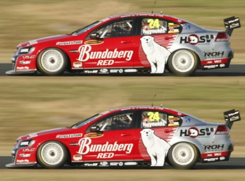 Andrew Thompson and Fabian Coulthard will race in Bundaberg colours in 2010, leaving David Reynolds on the sidelines
