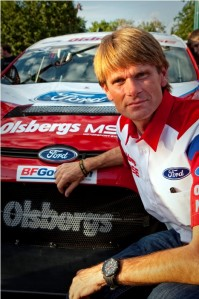2000 and '02 World Champion Marcus Grönholm will drive at Rally Sweden