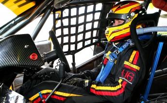 David Russell in his Howard Racing Falcon