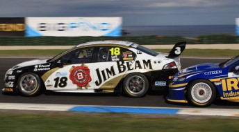 Jonathon Webb drove with Jim Beam Racing at Phillip Island and Bathurst with Warren Luff, finishing with a best result of sixth at L&H 500