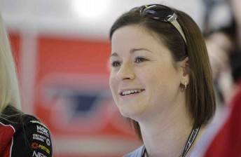 Leanne Tander will compete in the '10 Years of V8 Utes Legend' race at the Clipsal 500 in March