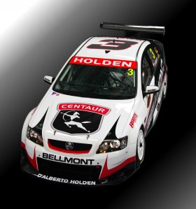The #3 Centaur Racing Commodore VE