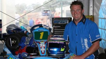 Troy Hunt says his trio of drivers in the 2010 CIK Stars of Karting Series are ready to fire