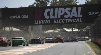 The start of last year's Clipsal 500