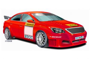 An example of the new-look British Touring Car