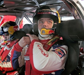 Sebastie Loeb hits trouble in NZ