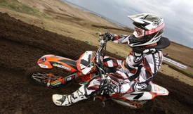 Motocross rider Andrew McFarlane