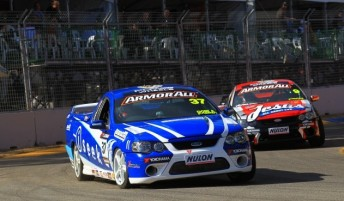 Steve Bradbury drove in the V8 Utes at the Clipsal 500