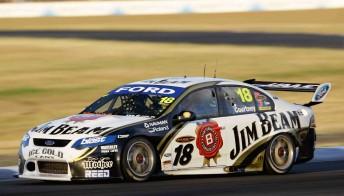 James Courtney won both Queensland Raceway events