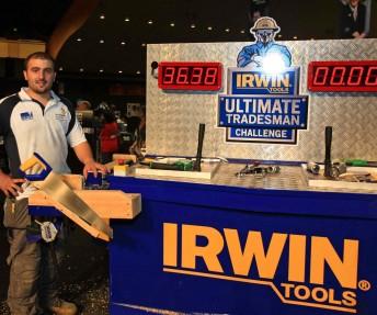 John Dagher has won his way through to the IRWIN Ultimate Tradesman Challenge Australia/NZ Final