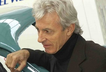 The late Peter Brock