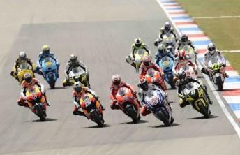The start of the Dutch TT