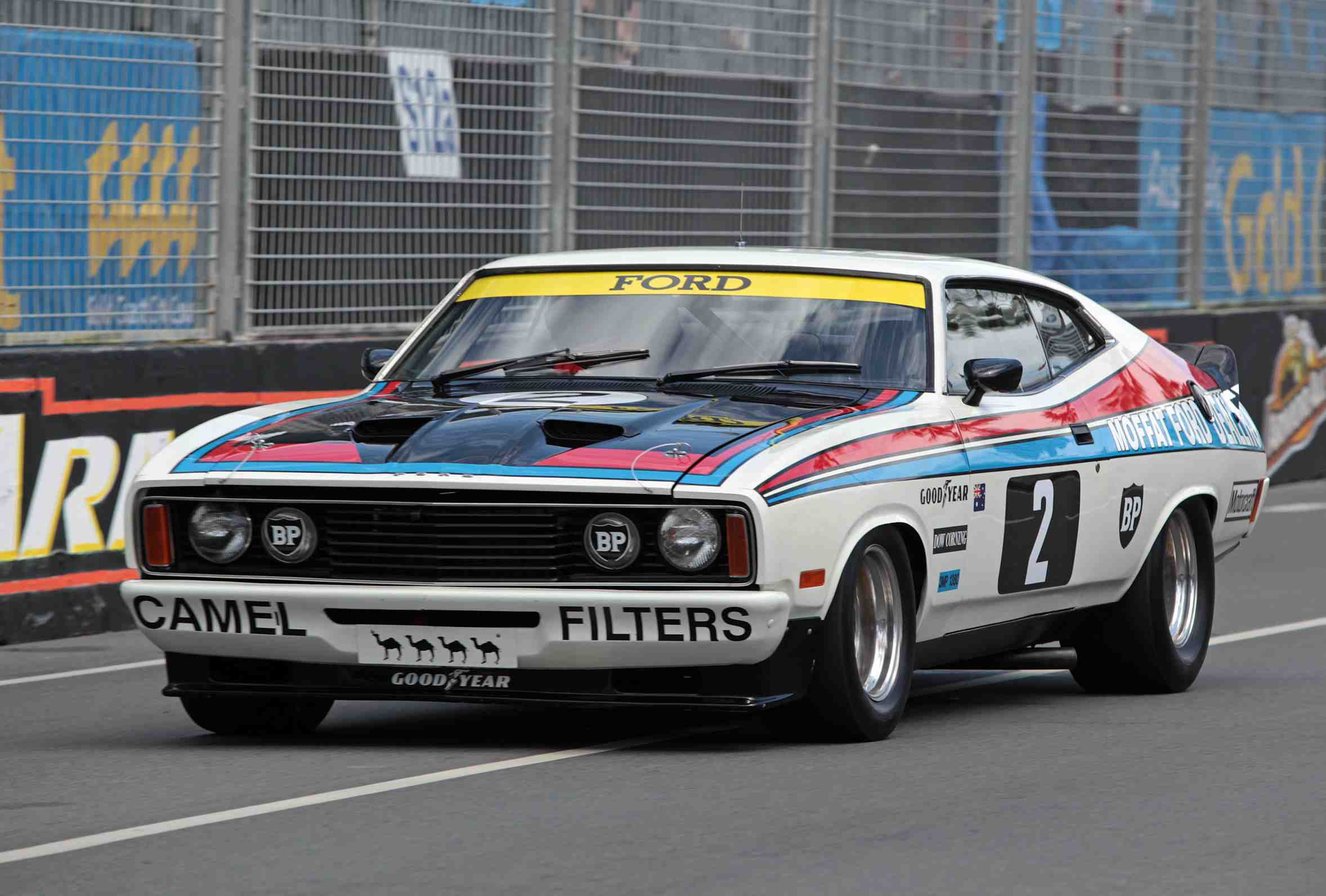 XC Falcon coupe that Colin Bond and Allan Hamilton drove