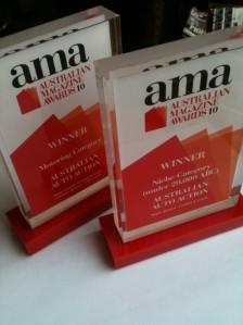 AA's awards