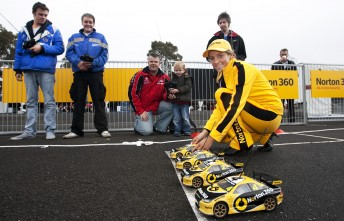 The 'Mini' Norton 360 Challenge at Sandown last year (check out the Formula Ford drivers having a go!)