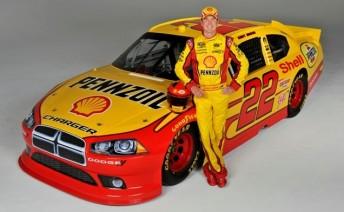 Kurt Busch and the #22 Shell-Penzoil Dodge