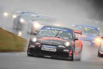 Craig Baird also took out the round in the Porsche GT3 Cup Challenge