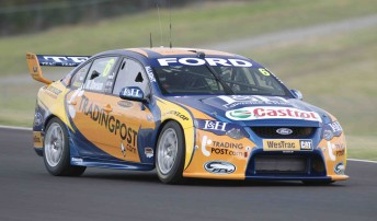 Will Davison was fast straight out of the box in his Trading Post FPR Falcon