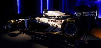 The new livery draws inspiration from the Rothmans-era