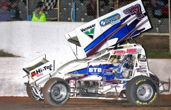 Robbie Farr has won the World Series Sprintcars title