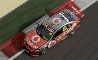 Jamie Whincup will start Race 2 from pole position