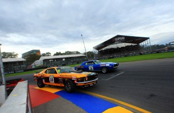 John Bowe took two races and the round at the Clipsal 500