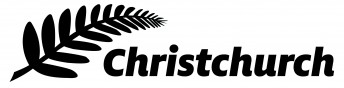 The Christchurch sticker that will appear on the door of each V8 Supercar at the Clipsal 500