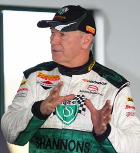 Australian motor racing legend Jim Richards