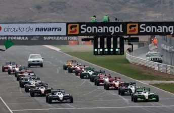 The 2011 Superleauge season finale is scheduled to take place in New Zealand