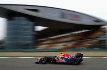 Vettel took pole by a comfortable margin