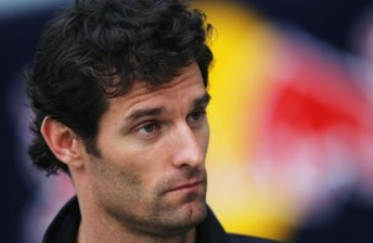 Mark Webber's tough start to the season has continued in China