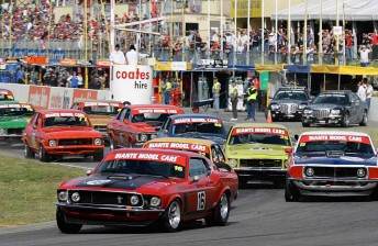 The Touring Car Masters class last raced at Barbagallo Raceway in 2008