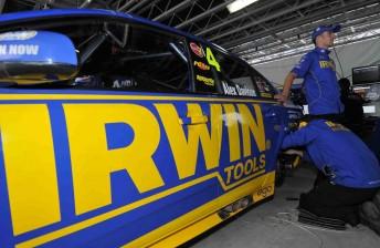 Davison with the IRWIN Tools Ford Falcon