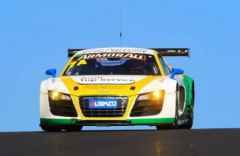 Luff and Lowndes finished second, alongside Mark Eddy, at Bathurst