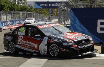 Andrew Thompson in the WR008 chassis at the Sydney Telstra 500 last year