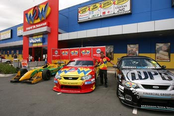 Craig Gore's WPS company supported Champ Cars and V8 Supercars