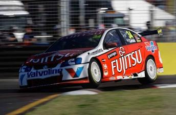 Fujitsu Racing's Michael Caruso approaches the Turn 7/8 chicane