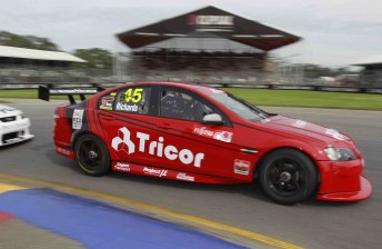 James Brock will drive the car that Jason Richards steered to victory at the Clipsal street track