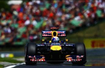 Sebastian Vettel ended qualifying on top