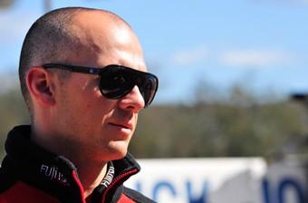 Fujitsu Racing's Lee Holdsworth