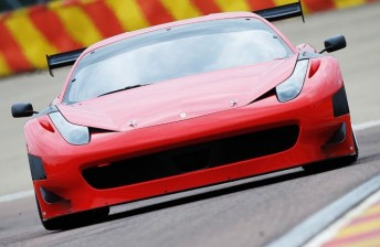 The 458 is Ferrari's latest GT3 challenger