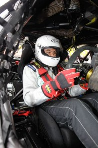 Pastor preparing to hit the track