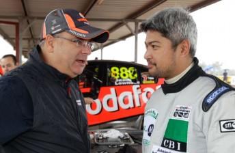 Roland Dane speaks with Enzo Pastor