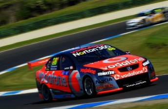 Jamie Whincup at Phillip Island