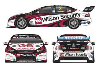Tony D'Alberto and Dale Wood will compete with a special McGrath Foundation-inspired livery at Bathurst this weekend